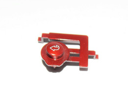 GE Profile Dryer : Control Back Button : Red (WE1M769) {P3986} - $19.79