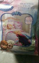 Frozen Elsa Anna Olaf Summer Breeze Twin/Single Size Comforter Sheet Set - $74.25