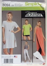 Simplicity 8094, Misses Tunic, Shorts, Leggings... - $4.95