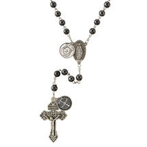 Police Officers Rosary with St. Michael and 2 prayer cards and magnet - $19.95