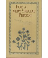 For a Very Special Person edited by Aileen Herrbach Neighbors,1976 Hallm... - $15.99