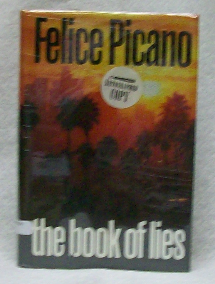 The Book of Lies, Picano Felice, signed