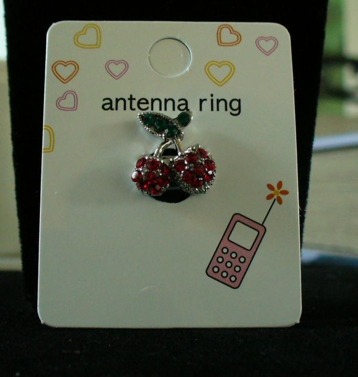 CHERRIES Cell Phone Antenna Ring