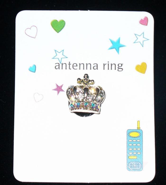 CROWN Cell Phone Antenna Ring Bonanza