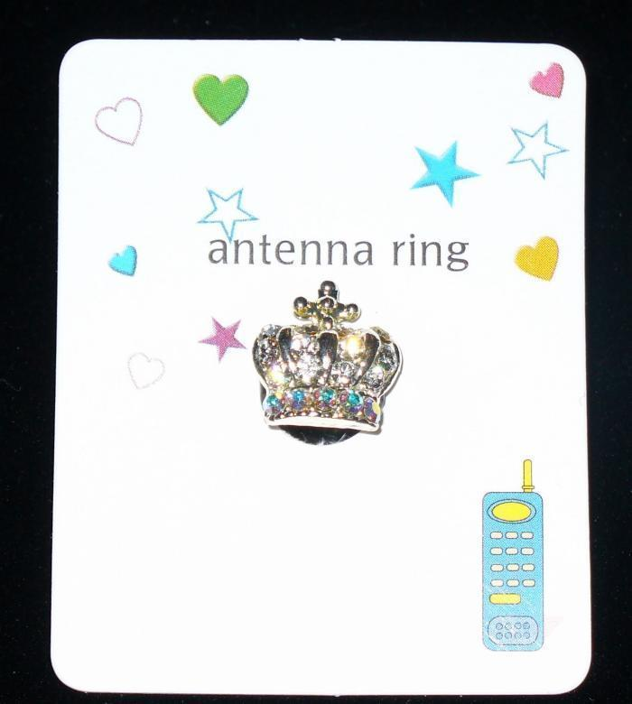 CROWN Cell Phone Antenna Ring