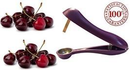 Cherry Pitter / Corer & Oliver Stoner - Modern Karma Kitchen Brand Cherr... - $7.91