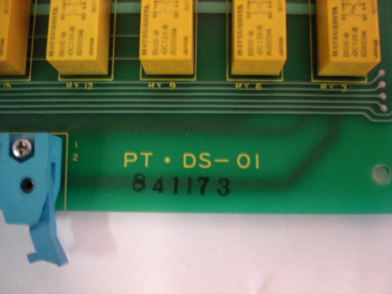 Relay PC Board PT.DS-01 for Hitachi Seiki VA-45