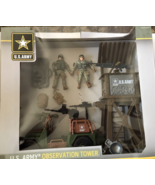 US Army Men Action Figures   Observation Tower Play Set New In Box - $52.44 CAD