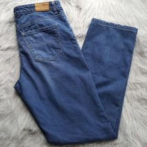 "Tommy Hilfiger Womens Sz 8R 8 Regular Denim Blue Jeans 34"" Inseam 5 Pock... - $5.89"