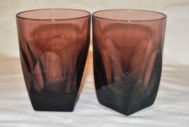 Hazel Atlas Moroccan Amethyst 8 oz Glass set of 2 - $14.95