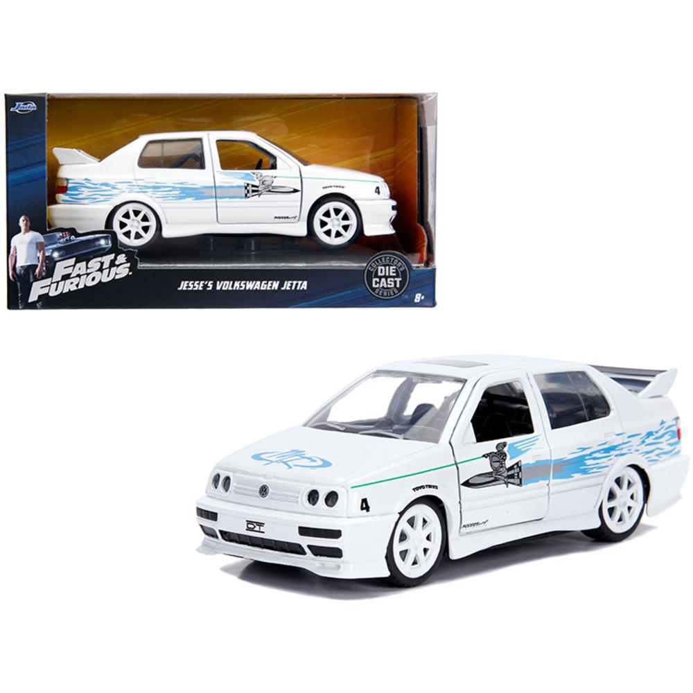 Jesses Volkswagen Jetta White Fast & Furious Movie 1/32