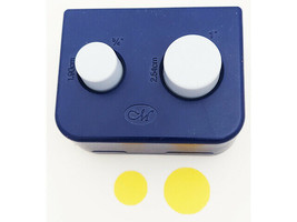 Creative Memories Circle Punch Set, Two Punches in One