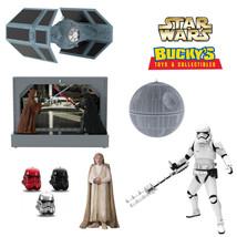 Star Wars Limited 2017 Hallmark Ornaments Tie Fighter Death Star Luke Sk... - $15.83+