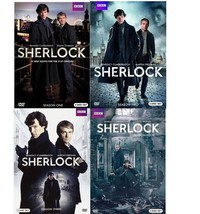 Sherlock: The Complete Series Season 1 2 3 & 4 [DVD Sets] BBC TV Show - $39.99