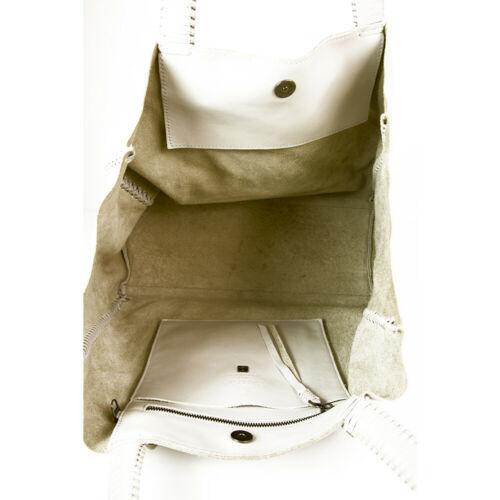 "Callista Crafts Ultra Light gray ""Ice"" color Tote Shoulder Bag Handbag Hobo image 7"