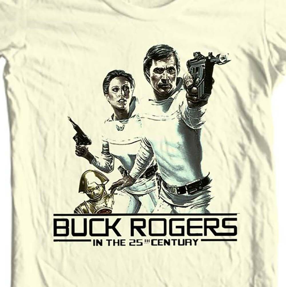 Buck Rogers in the 25th Century T shirt 70 80s sci fi retro TV show  graphic tee