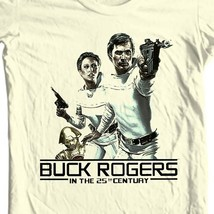 Buck Rogers in the 25th Century T shirt 70 80s sci fi retro TV show  graphic tee image 1