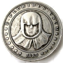 Hobo 1889 Iron Coin of the Faceless Man, Game of Thrones, Valar Morghuli... - $11.99