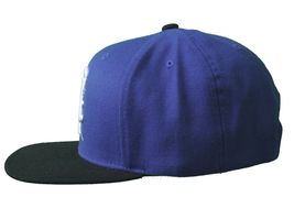 Kr3w Skateboarding Royal Blue Black Mark Starter Snapback Baseball Hat Cap NWT image 5
