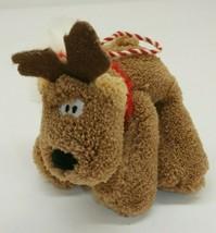 Hallmark Plush Christmas Ornament Rodney the Reindeer - $9.89