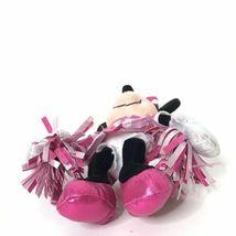 "Ty Sparkle Minnie Cheerleader Disney Beanie Plush Stuffed Animal 9"" Tall image 7"