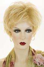 Golden Blonde w/ Pale Golden Blonde Bold Highlight Blonde Short Lace Front Wigs - $161.57