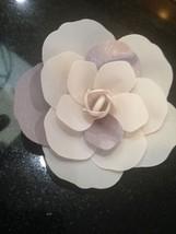 Authentic Pandora Charm Store decoration 1 beautiful fabric flower lavender new - $14.00