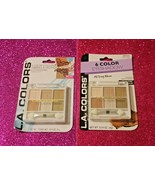 L.A.COLORS 6COLOR EYESHADOW CBEP 434 LOT OF 2 SEALED / BOXED - $8.54