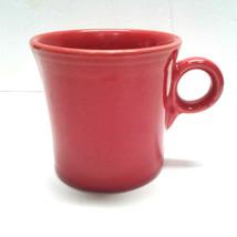 Fiesta Ware Fiestaware Scarlet Red Ring Handle Coffee Mug Cup Homer Laughlin - $15.00