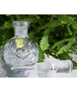 MINT Waterford Perfume - Scent Bottle~Vintage~Drop Dead Gorgeous~Perfect... - $139.99