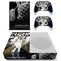 Stephen Curry decal xbox one S console and 2 controllers - $15.00