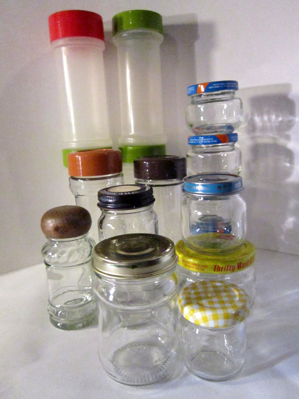 Small bottles for herbs and spices jars with lids for diy for Diy bottles and jars