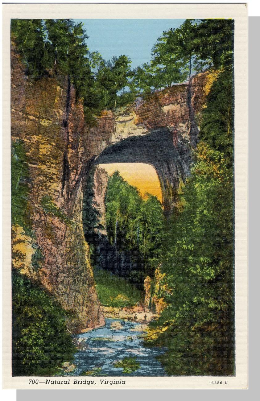Va natural bridge