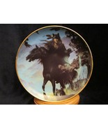 SPIRIT OF THE NIGHT collector plate HERMON ADAMS Native horse WESTERN HE... - $9.99