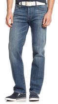 Armani Jeans Men's J21 Straight Fit Light Wash Jeans,OMJ81/2K, Size 30X3... - $89.09