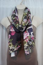 Echo Design Scarf Sz OS One Size Purple Blue Mu... - $19.71