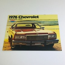 1976 Chevrolet Caprice Classic-Impala Dealership Car Auto Brochure Catalog - $8.51