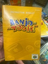 Banjo Tooie Nintendo 64 N64 Manual Booklet Instructions Only - $19.65