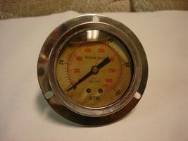 FTB Hydraulic Pressure Gauge 1500PSI - $12.00