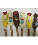 Easter Chocolate Covered Pretzel Rods - $11.75