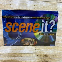 MATTEL SCENE IT Movie Trivia DVD Game 2003 Real Movie Clips SEALED NEW - $16.99