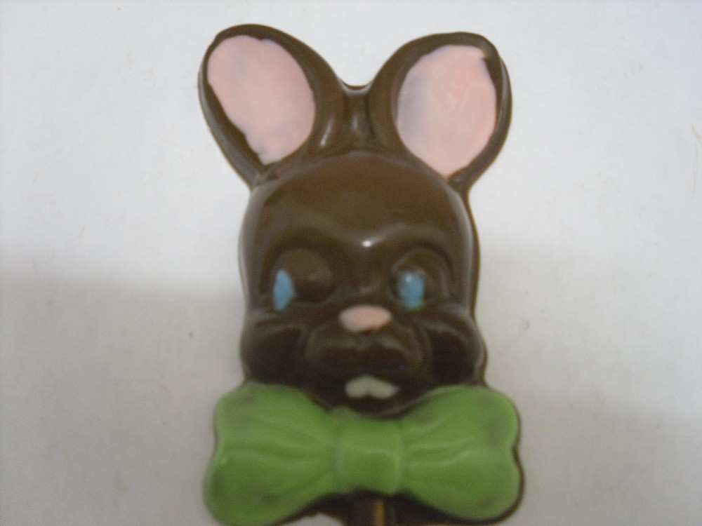 Easter Bunny Lollipops