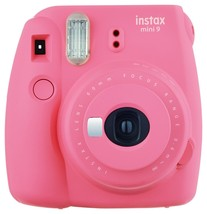 Flamingo Pink FujiFilm Fuji Instax Mini 9 Instant Photos Films Polaroid ... - $94.99
