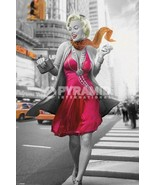 Marilyn Monroe Walk Blonde Bombshell Cool Wall Decor Art Print Poster 24x36 - $20.90