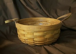 Longaberger 1993 DARNING BASKET Includes Plastic Protector - $19.95