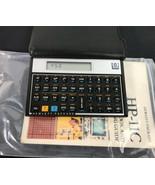 Hewlett Packard HP 11C Scientific Calculator w/Case & Manual Made USA - $179.45