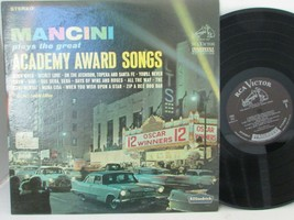 MANCINI PLAYS THE GREAT ACADEMY AWARD SONGS RCA VICTOR 151 RECORD ALBUM  - $9.75