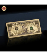 WR Color Gold US $1 Million Dollar Collector Banknote Nice Detail New Ye... - $3.00