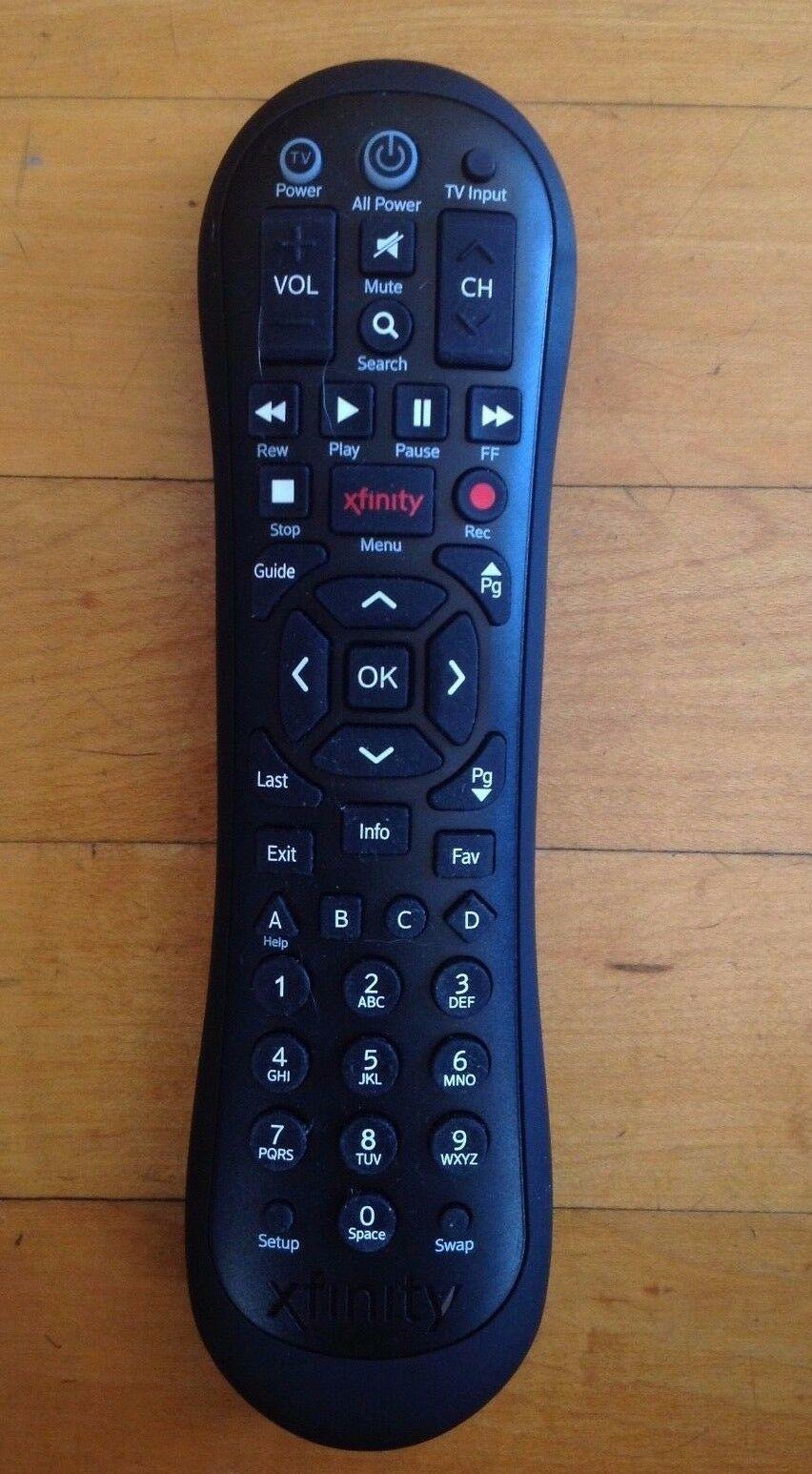 Comcast Xfinity Xr2 Black Remote Control And 44 Similar Items
