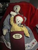Mommy & Child Raggie Ann Cloth Doll's with Bedtime Story Book  - $13.06